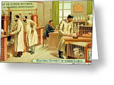 Bacteriological Laboratory Greeting Card