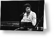 Bad Company 1977 Greeting Card