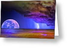 Bad Moon Rising Greeting Card