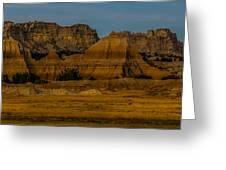 Badlands In Color Greeting Card