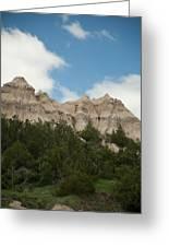 Badlands National Park View Greeting Card
