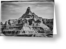 Badlands Peak Greeting Card