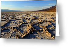 Badwater Basin Greeting Card