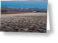 Badwater Greeting Card