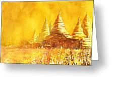 Bagan Heat Greeting Card