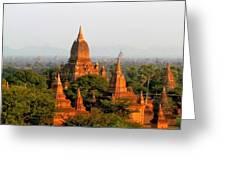 Bagan Temples Greeting Card