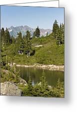 Bagley Lake - Washington Greeting Card