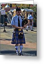 Bagpipes Greeting Card