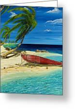Bahama Beach Greeting Card