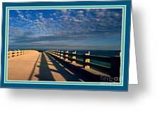 Bahia Honda Bridge In The Florida Keys Greeting Card