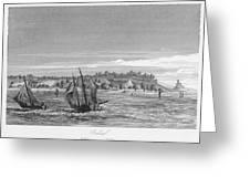 Bahia, Salvador, Brazil     Date 1846 Greeting Card