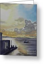 Bainbridge Ferry Greeting Card