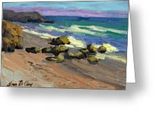 Baja Beach Greeting Card