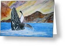 Baja Breach Greeting Card