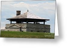 Bake House At Old Fort Niagara Greeting Card
