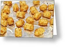 Baked Potato Treats Greeting Card