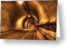 Baker Barry Tunnel Greeting Card