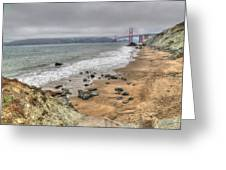 Baker Beach View Greeting Card