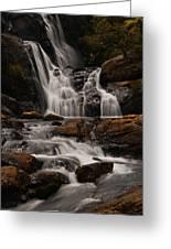 Bakers Fall. Horton Plains National Park. Sri Lanka Greeting Card