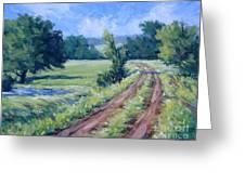 Bakers Ranch Road Greeting Card