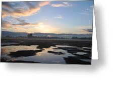 Bakersfield Sunrise Greeting Card