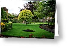 Bakewell Country Gardens - Bakewell Town - Peak District - England Greeting Card