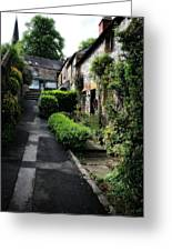 Bakewell Country Terrace Houses - Peak District - England Greeting Card