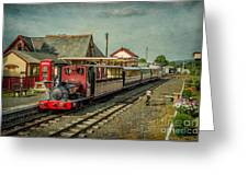 Bala Lake Railway Greeting Card