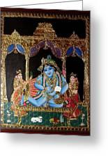 Balakrishna Greeting Card by Jayashree