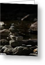 Balance In Nature Greeting Card