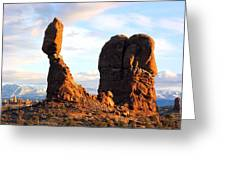 Balance Rock Greeting Card