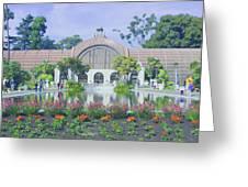 Balboa Park Botanical Garden Greeting Card