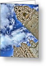 Balboa Park's California Tower By Diana Sainz Greeting Card