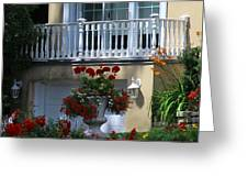 Balcony 3 Greeting Card