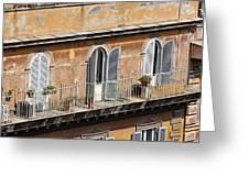 Balcony Greeting Card