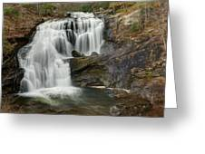 Bald River Falls Greeting Card