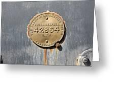Baldwin Locomotive Greeting Card