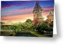 Bali 2 Greeting Card