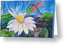 Bali Dragonfly Greeting Card