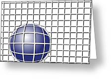 Ball In The Net Greeting Card