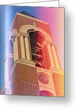 Ball State Bell Tower Greeting Card