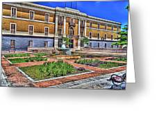 Ballaja Barracks Museum  Greeting Card by Diosdado Molina