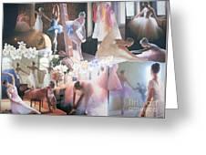 Ballarina Beauty - Sold Greeting Card