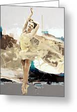 Ballerina 34 Greeting Card