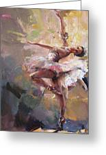 Ballerina 40 Greeting Card