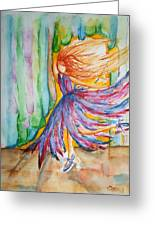 Ballerina Curtain Call Greeting Card