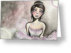 Ballerina Dreams Greeting Card