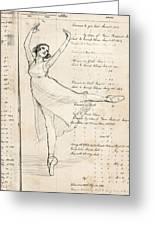 Ballet Greeting Card