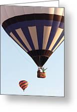 Balloon-2shotwave-7393 Greeting Card
