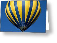 Balloon And The Moon Greeting Card